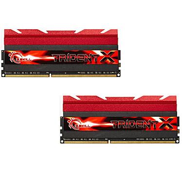 G.Skill Trident X Series 16 Go (2 x 8 Go) DDR3 1866 MHz CL8 Kit Dual Channel DDR3 PC3-14900 - F3-1866C8D-16GTX (garantie à vie par G.Skill)