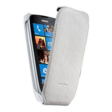 Nokia Etui CP-574 Blanc Etui pour Nokia Lumia 610