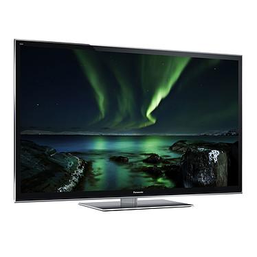 """Panasonic TX-P65VT50E Téléviseur Plasma 3D Full HD 65"""" (165 cm) 16/9 - 1920 x 1080 pixels - Tuner TNT HD - DLNA - 2500 Hz - Wi-Fi - HDTV 1080p - 2 paires de lunettes actives + télécommande tactile"""