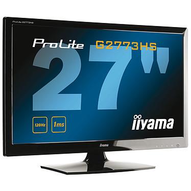 "iiyama 27"" LED - ProLite G2773HS 1920 x 1080 pixels - 1 ms - Format large 16/9 - 120 Hz - HDMI - Noir"