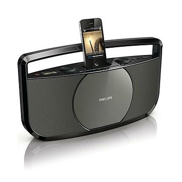 Philips AZD1755 Radio CD MP3/WMA avec station d'accueil iPod/iPhone et entrée auxiliaire