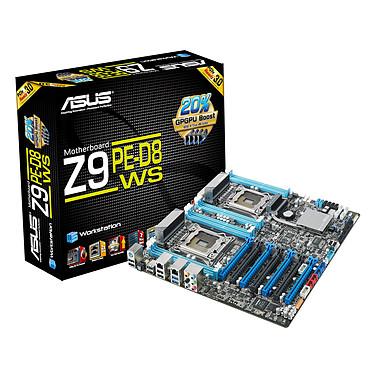 ASUS Z9PE-D8 WS Carte mère SSI EEB 2x Socket 2011 Intel C602 - SATA 6Gb/s - 4x PCI Express 3.0 16x - 2x Gigabit LAN