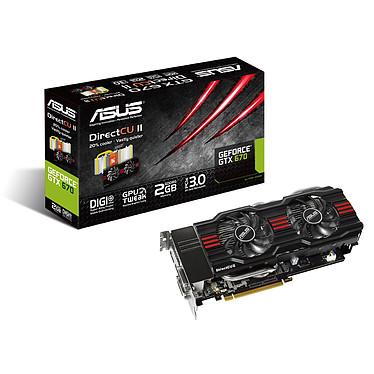 ASUS GTX670-DC2-2GD5 2 GB 2048 Mo Dual DVI/HDMI/DisplayPort - PCI Express (NVIDIA GeForce avec CUDA GTX 670)