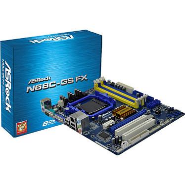 ASRock N68C-GS FX Carte mère Micro ATX Socket AM2/AM2+/AM3/AM3+ NVIDIA GeForce 7025 Vidéo intégrée - SATA 3Gb/s - USB 2.0