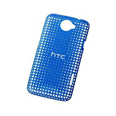 HTC Coque rigide dockable HTC One X HC-C704B Bleue Coque rigide dockable en polycarbonate pour HTC One X