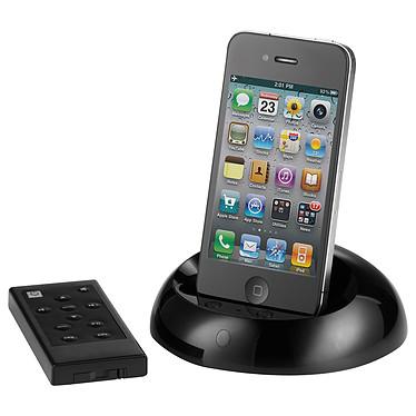 Scansonic D2 Noir Station d'accueil amplifiée pour iPhone/ïPod