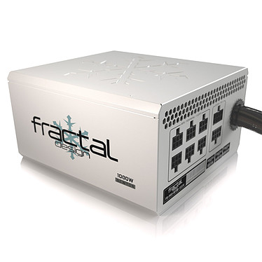 Fractal Design Newton R3 1000W Blanc Alimentation 1000W ATX 12V 2.31/EPS 12V 2.92 Ventilateur 135 mm - 80PLUS Platinum