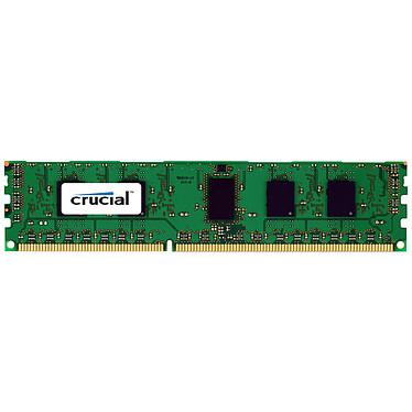 Crucial 16 Go DDR3 1600 MHz CL9 ECC Registered DR X4 RAM DDR3 PC12800 - CT16G3ERSLD4160B (garantie à vie par Crucial)