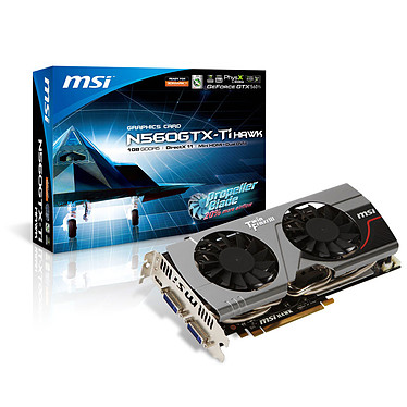 MSI N560GTX-Ti Hawk 1 GB