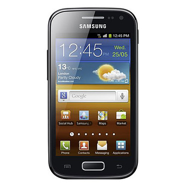"Samsung Galaxy Ace II GT-I8160 Smartphone 3G+ avec écran tactile 3.8"" sous Android 2.3"