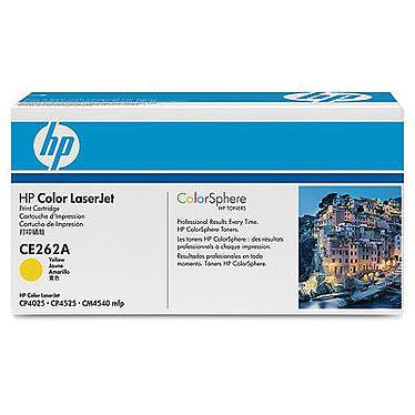 HP CE262A Toner jaune HP LaserJet 648A