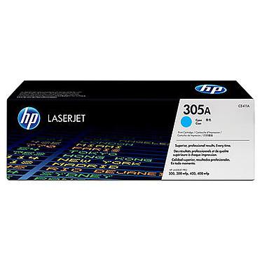 HP 305A Cyan (CE411A) Toner cyan (2600 pages à 5%)