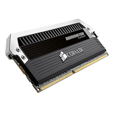 Avis Corsair Dominator Platinum 64 Go (8 x 8 Go) DDR3 2400 MHz CL11