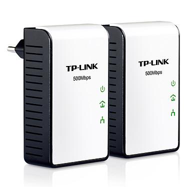 TP-LINK TL-PA411KIT Pack de 2 mini adaptateurs CPL HomePlug AV 500 Mbps