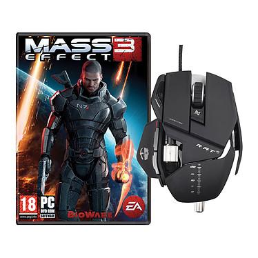 Cyborg R.A.T. 5 + Mass Effect 3 Souris laser ajustable pour gamer