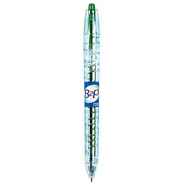 PILOT Begreen B2P vert pointe 0,5mm Stylo roller rétractable à encre gel pointe fine