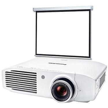 Panasonic PT-AH1000E + LDLC Ecran motorisé Format 16:9 - 240 x 135 cm Vidéoprojecteur 3LCD Full HD 2800 Lumens