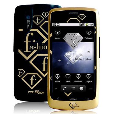 """ZTE Fashion TV Noir Smartphone 3G+ avec écran tactile 3.5"""" sous Android 2.2"""