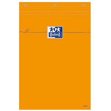 Oxford Bloc Bureau 21 x 32 quadrillé 5 x 5 80 pages