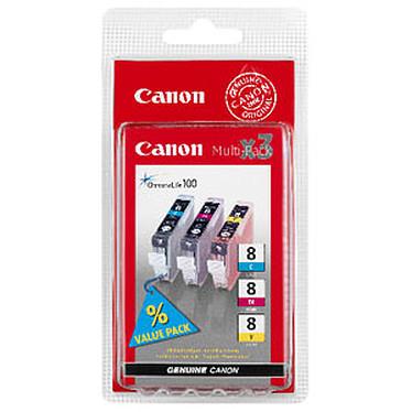 Canon CLI-8 Multipack (Cyan, Magenta, Jaune)