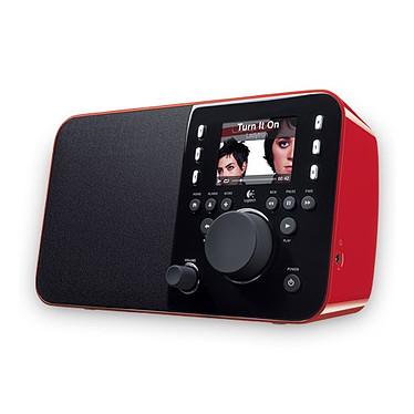 Logitech Squeezebox Limited Edition (Rouge) Radio Internet sans fil avec batterie rechargeable