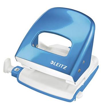 Leitz Perforateur Métallique 5008 Bleu Azur Metallisé