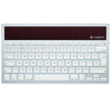 Logitech Wireless Solar Keyboard K760 Clavier sans fil à énergie solaire (pour Mac / iPad / iPad 2 / iPhone) (AZERTY, Français)