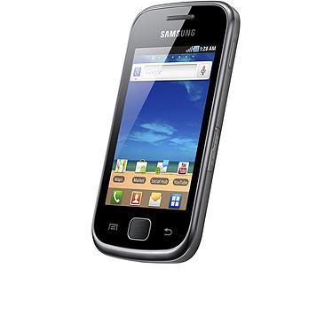 "Samsung Galaxy Gio GT-S5660 Noir Smartphone 3G+ avec écran tactile 3.2"" sous Android"