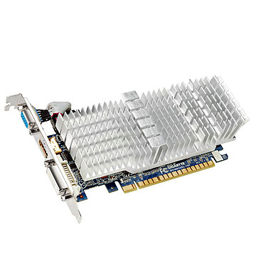 Gigabyte GeForce GT 610 GV-N610SL-1GI 1024 Mo DVI/HDMI - PCI Express (NVIDIA GeForce avec CUDA GT 610)