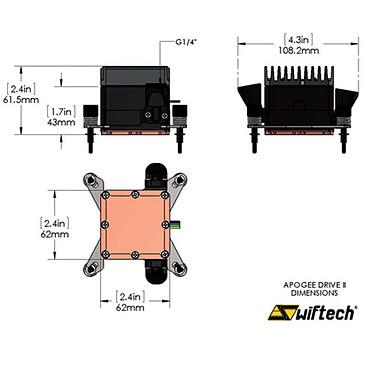 Acheter Swiftech Apogee Drive II APD2-2011