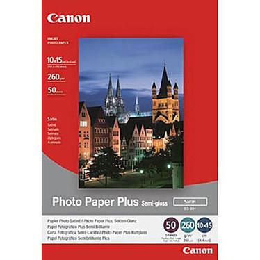 Canon SG-201 Papier Photo Satiné, 260g/m² (10 x 15 cm, 50 feuilles)