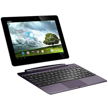 "ASUS Transformer Pad Infinity TF700T-1B114A + Dock mobile Tablette Internet - NVIDIA Tegra 3 1 Go SSD 64 Go 10.1"" LED Wi-Fi N/Bluetooth Webcam Android 4.0"