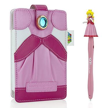 PDP Character Kit  - Peach (Nintendo 3DS, DSLite, DSi) Housse de protection et stylet pour Nintendo 3DS, DSLite et DSi
