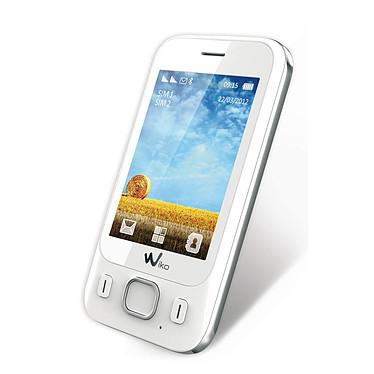 """Wiko Summer Blanc Smartphone 2G avec écran tactile 2.8"""" et 2 ports pour cartes SIM"""
