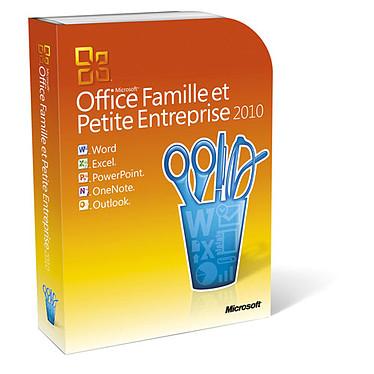 Microsoft Office Famille et Petite Entreprise 2010 - 2 PC / 1 utilisateur (DVD) Version Boîte avec DVD (français, WINDOWS)