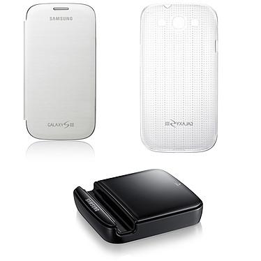 Samsung Pack 3-en-1 pour Galaxy S III GT-i9300