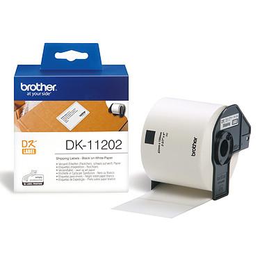 Brother DK-11202 Etiquettes d'expédition - 62 x 100 mm (pack de 300)
