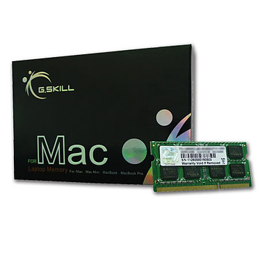G.Skill for Mac 8 Go (2 x 4 Go) DDR3 1600 MHz CL11