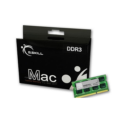G.Skill for Mac 32 Go (4x8 Go) DDR3 1333 MHz CL9