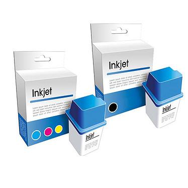 Générique compatible HP 300XL Noir + Couleur - CC641EE + CC644EE Cartouche d'encre noire + couleur