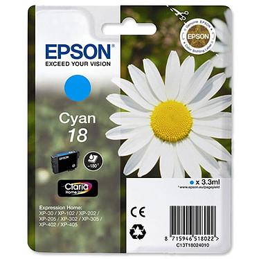 Epson T1802 Cartouche d'encre cyan photo