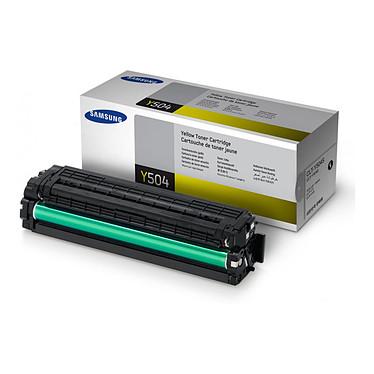 Samsung CLT-Y504S Toner Jaune (1 800 pages à 5%)