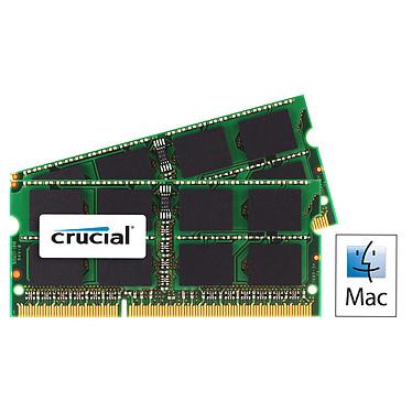 Crucial for Mac SO-DIMM 16 Go (2 x 8 Go) DDR3 1333 MHz CL9 Kit de doble canal SO-DIMM DDR3 PC10600 - CT2C8G3S1339MCEU de doble canal (garantía de por vida de Crucial)