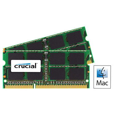 Crucial for Mac SO-DIMM 16 Go (2 x 8 Go) DDR3 1600 MHz CL11
