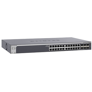 Netgear GS728TSB Smart Switch stackable ProSafe 24 ports 10/100/1000 Mbps +2 SFP