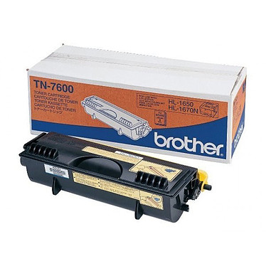 Brother TN-7600  Toner Noir (6 500 pages à 5%)