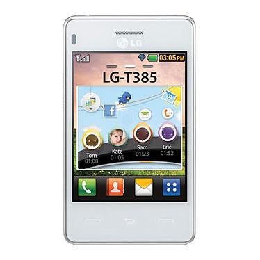 LG T385 Blanc