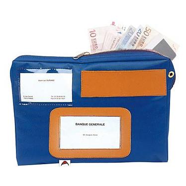 Pochette de caisse Pochette en nylon de 27 x 19 x 4 cm pour le transport d'argent
