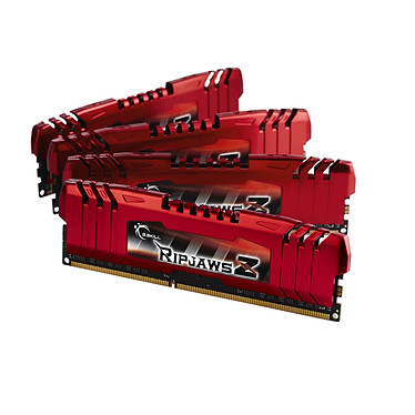 G.Skill RipJaws Z Series 32 Go (4 x 8 Go) DDR3 2133 MHz CL11 Kit Quad Channel DDR3 PC3-17000 - F3-2133C11Q-32GZL (garantie à vie par G.Skill)