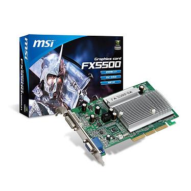 MSI FX5500-D256H 256 Mo